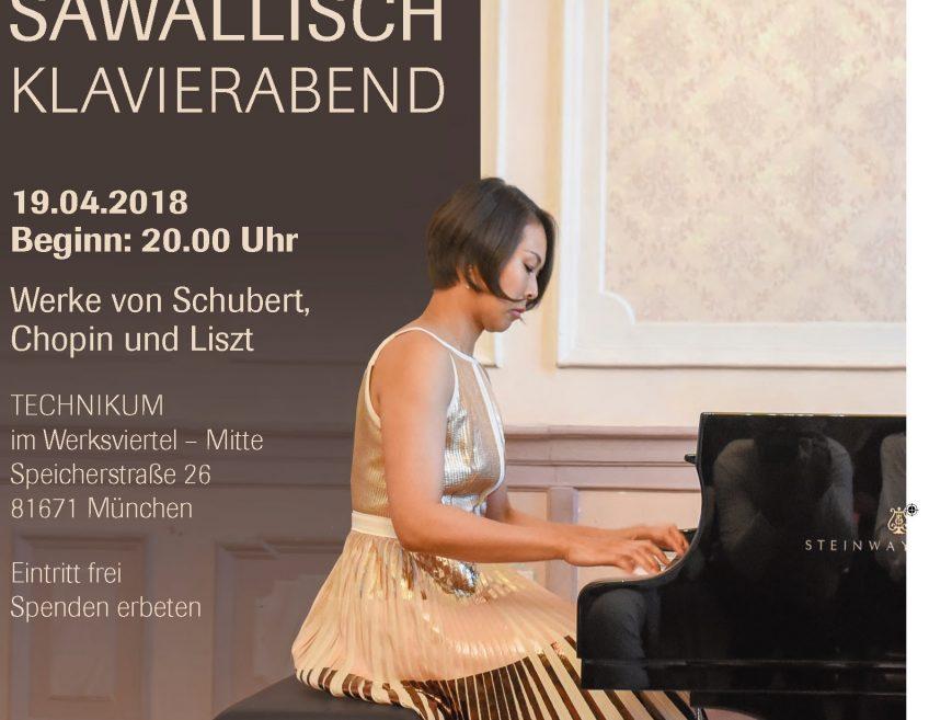 ミュンヘンにてチャリティコンサート!