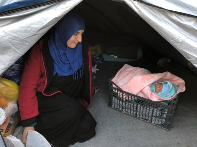 ギリシャにあるモーリア難民キャンプ 全焼