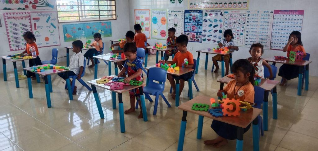カンボジアの幼稚園プロジェクト再開!