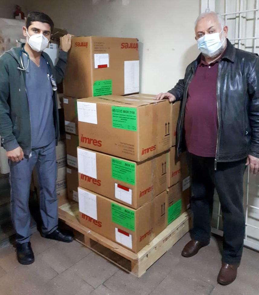 ナゴルノ・カラバフ紛争の犠牲者への支援